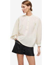 Anine Bing Eden Shirt - Natural