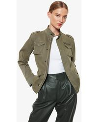 Anine Bing Army Green Jacket