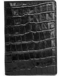 Anine Bing Passport Cover - Black