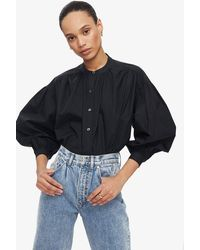 Anine Bing Eden Shirt - Black