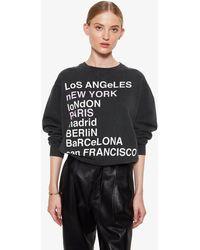 Anine Bing City Love Sweatshirt - Multicolor