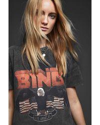 Anine Bing Vintage Bing Cotton T-shirt - Black
