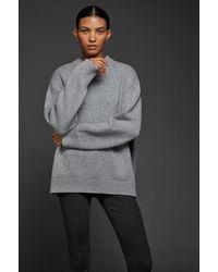Anine Bing Rosie Cashmere Sweater - Gray