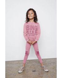 Anine Bing Sadie Leggings - Pink