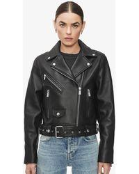 Anine Bing Benjamin Moto Jacket - Black