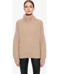 Anine Bing Sydney Sweater - Natural