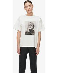 Anine Bing Ida T-shirt Ab X To - White