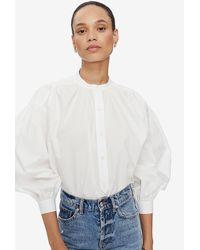 Anine Bing Eden Shirt - White