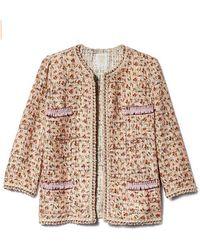 Anna Sui Rosebuds Jacket - Multicolor