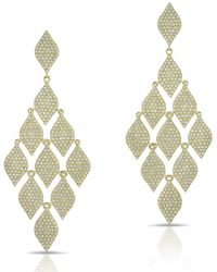 Anne Sisteron - 14kt Yellow Gold Diamond Luxe Chime Earrings - Lyst
