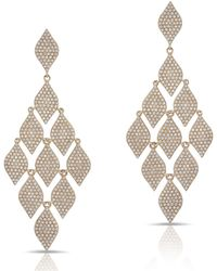 Anne Sisteron - 14kt Rose Gold Diamond Luxe Chime Earrings - Lyst