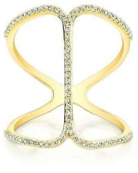 Anne Sisteron - 14kt Yellow Gold Diamond Phantom Ring - Lyst