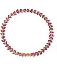 Annoushka - Ruby Vine Bracelet - Lyst