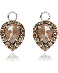 Annoushka - Unique Diamond Earring Drops - Lyst