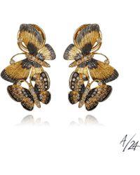Annoushka - Butterflies Duet Earrings - Lyst