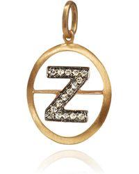 Annoushka - Alphabet Z Pendant - Lyst