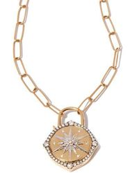 Annoushka - Lovelock 14ct Gold Mini Cable Chain Star Charm Necklace - Lyst