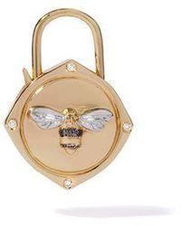 Annoushka - Lovelock 18ct Gold Diamond Bee Charm - Lyst