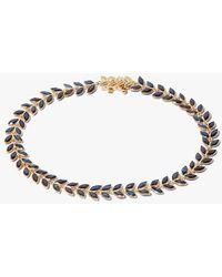 Annoushka 18ct Gold Sapphire Vine Bracelet - Metallic