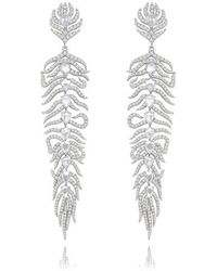 Sutra Annoushka Feather Earrings - Multicolor