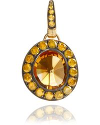 Annoushka - Dusty Diamonds Citrine Pendant - Lyst