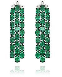 Sutra Annoushka Emerald Earrings - Green