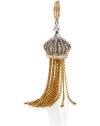 Annoushka - Touch Wood 18ct Gold Diamond Tassel Earrings - Lyst