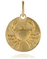 Annoushka - Mythology 18ct Gold Cancer Pendant - Lyst