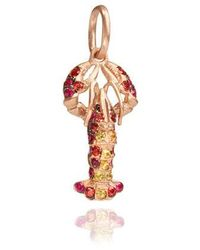 Annoushka Mythology Lobster Charm - Multicolour