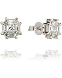 Annoushka - Pavilion Diamond Stud Earrings - Lyst