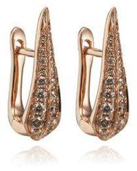 Annoushka Diamond Hoop Earrings - Metallic