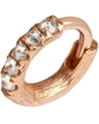 Annoushka - Dusty Diamonds Hoop Earrings - Lyst