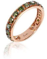 Annoushka - Dusty Diamonds 18ct Rose Gold Eternity Ring - Lyst