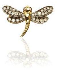 Annoushka Love Diamonds Dragonfly Left Earring - Metallic