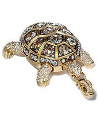 Annoushka Mythology Turtle Locket Pendant - Metallic