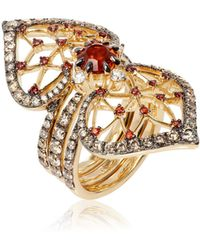 Annoushka - Imperial 18ct Gold Citrine Jacket Ring - Lyst