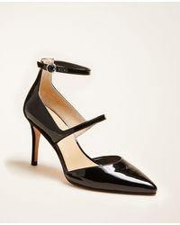 Ann Taylor - Coraline Leather Pumps - Lyst