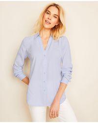 Ann Taylor Petite Essential Shirt - Multicolour