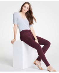 Ann Taylor - Tall Modern Skinny Jeans In Wild Moss Wash - Lyst