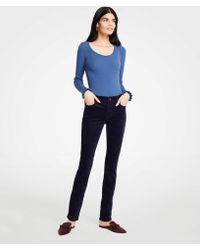 Ann Taylor - Tall Modern Skinny Velvet Jeans - Lyst