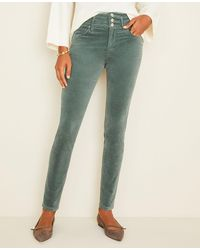 Ann Taylor - High Rise 5-pocket Velvet Pants - Lyst