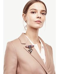 Ann Taylor Dragonfly Large Pin - Pink