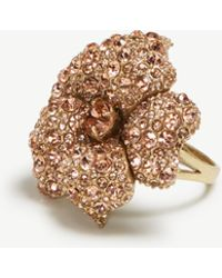 Ann Taylor - Flower Statement Ring - Lyst