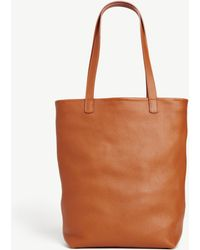 Ann Taylor Tuscan Leather Tote - Brown