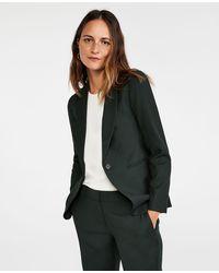 Ann Taylor The Petite Shawl Collar Blazer - Multicolour