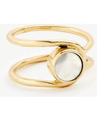 Ann Taylor - Circle Stone Ring - Lyst