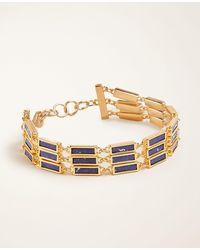 Ann Taylor - Stone Bracelet - Lyst