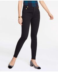 Ann Taylor - Petite Sailor All Day Skinny Jeans - Lyst