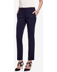 Ann Taylor - The Petite Ankle Pant In All-season Stretch - Devin Fit - Lyst