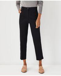 Ann Taylor The Cotton Crop Pant - Curvy Fit - Black